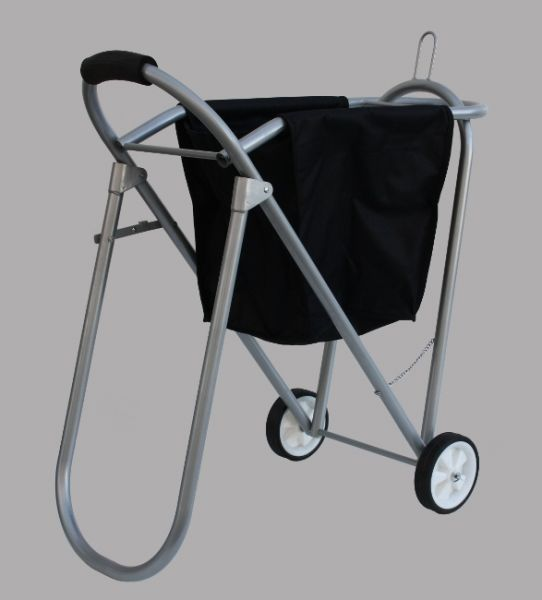 Alu Saddle Caddy mit Transporttasche