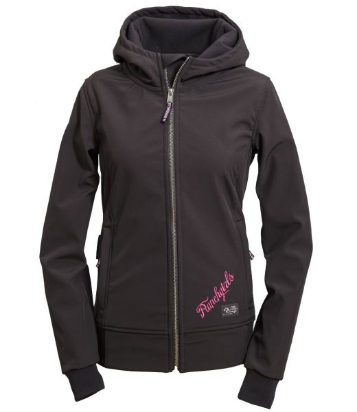 RANCHGIRLS HOODED TECHNO-SHELL JKT
