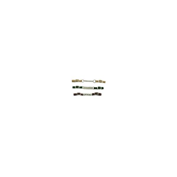Kinnkette geflochten Nylon (single/double)