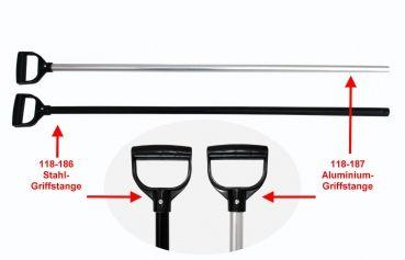 Stiel für Forke - ALUMINIUM / Silber