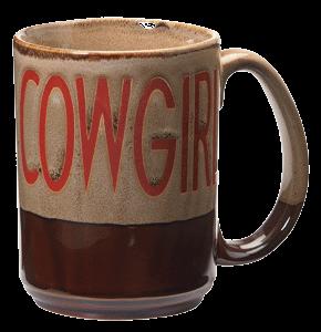 Becher Cowgirl