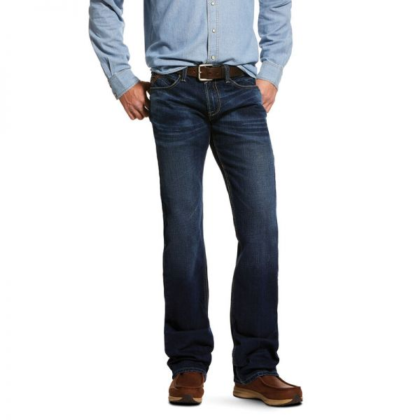 Ariat Herren M7 Rocker Stretch Montecito Stackable Straight Leg Jeans