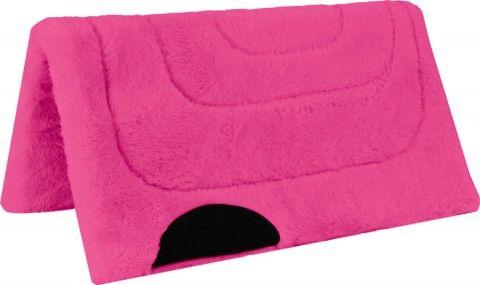 Princess Fleece Pony Pad Pink