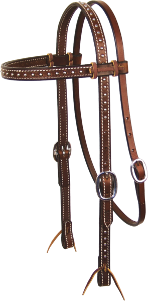 Chocolate Headstall