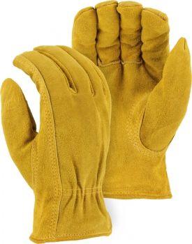 """Majestic"" - Cowhide Split Leather Winter Lined Glove"