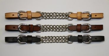 Kinnkette Show - Stones on Buckle & Chain - 3 Farben