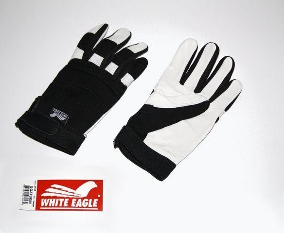 White Eagle Ziegenleder Handschuhe