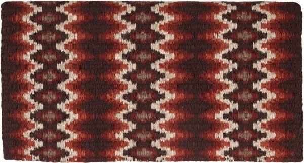 Mustang Mohair Woven Blanket