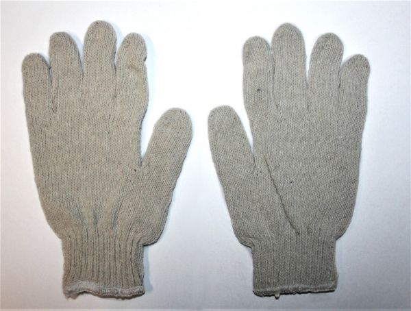 Handschuhe/Arbeitshandschuhe - Baumwolle - BEIGE- Paar