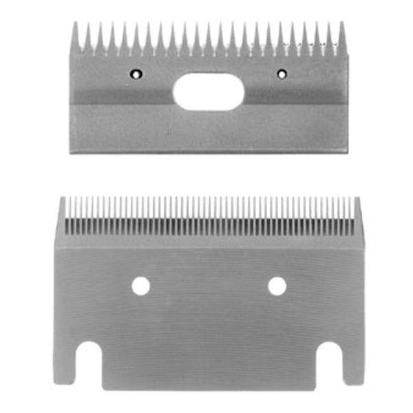 Schermesser tempered steel gebogen