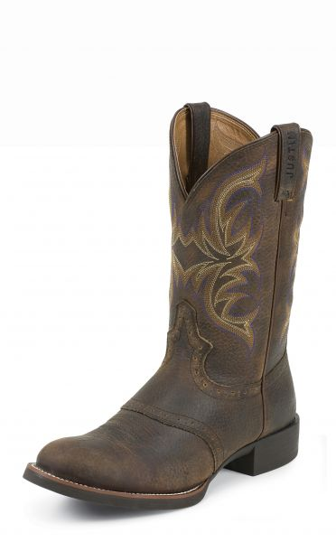 Justin Stiefel DARK BROWN