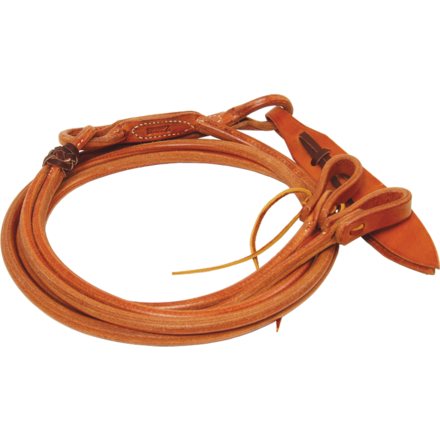"Harness Leather Romal Reins with 48"" Fronts"