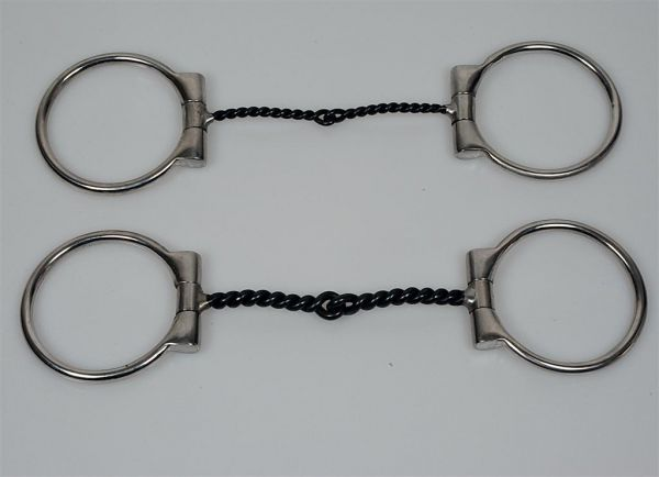 SS Twisted D-Ring Snaffle