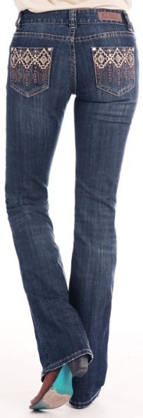 Rock&Roll Cowgirl Jeans Mid Rise Bootcut