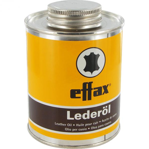 Effax Leder Öl 475ml mit Pinsel