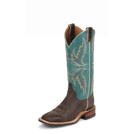 Justin Damen Boot AGED BARK