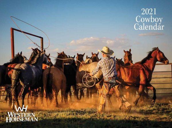 Cowboy-Western Horseman Kalender 2021