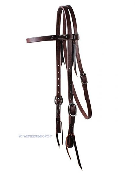 Ranchhand 5/8 Browband Double Buckle