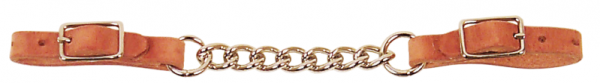 Kinnkette Harness LederSingle Link Chain