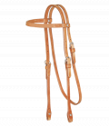 Cowboy Laced Browband Headstall