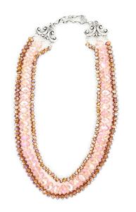 Kette Bronce/Pink/Gold