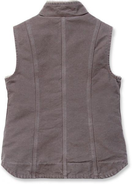 Womens Sandstone Mock Neck Vest
