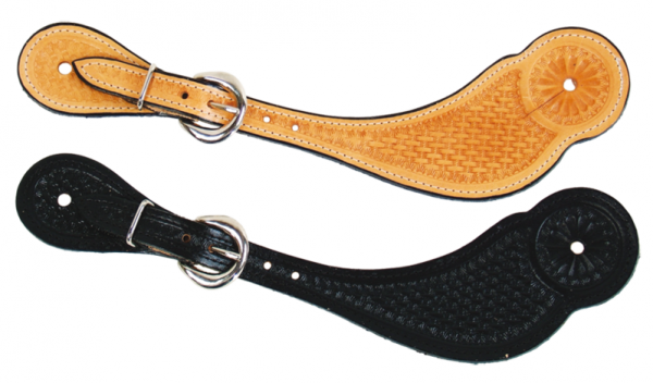 Women's Basketweave Spur Straps
