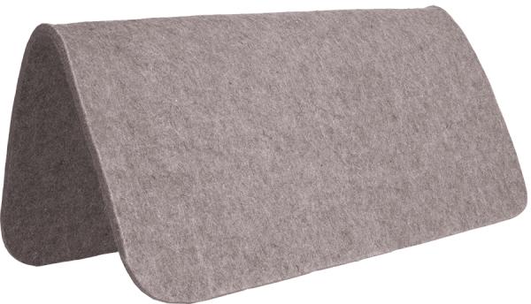 "Grey Wool Pad 1/2"""
