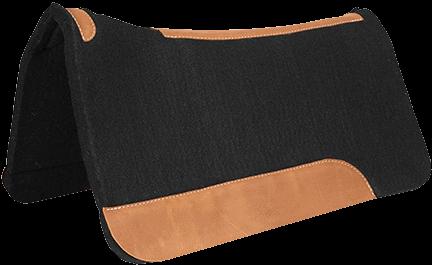 Contoured Black Felt Pad