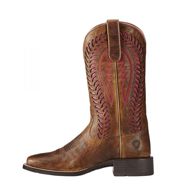 Quickdraw Vent TEX Western Boot