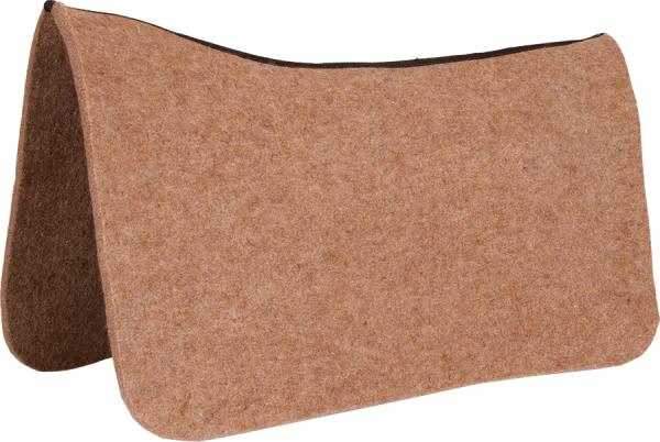 Contoured Wool Pad Protector Tan