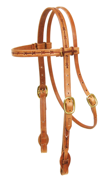 Barbwire Quick Change Headstall
