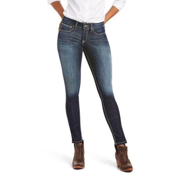 "Ariat Damen Jeans ""R.E.A.L Mid Rise Outseam Ella Skinny"""
