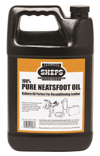 """Weaver SHEPS"" – Lederpflege -100% Pure Neatsfoot Oil – 16oz. / 473ml"